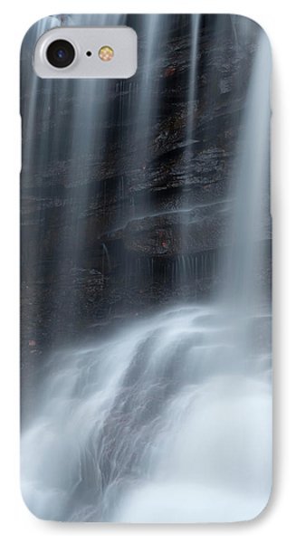 Misty Canyon Waterfall Phone Case by John Stephens