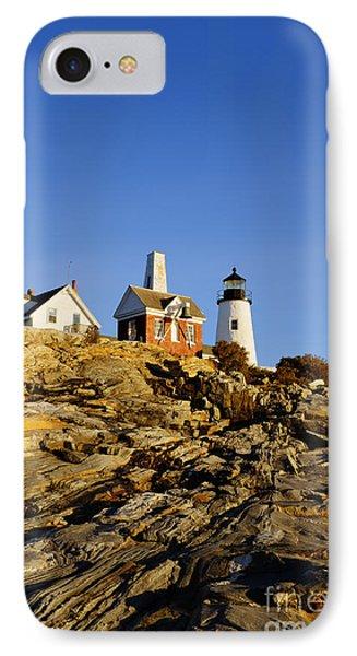 Pemaquid Point Lighthouse Phone Case by John Greim