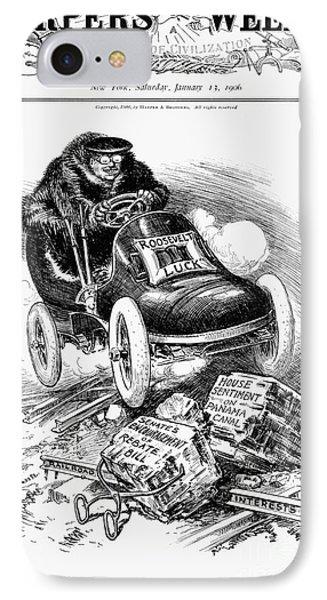 Roosevelt Cartoon, 1906 Phone Case by Granger