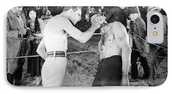 Silent Film Still: Boxing Phone Case by Granger