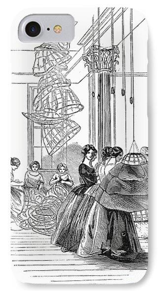 Skirt Factory, 1859 Phone Case by Granger