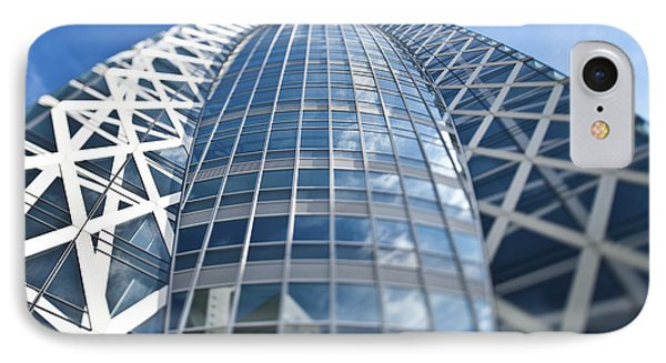 Skyscrapers In Tokyos Shinjuku Phone Case by Eddy Joaquim