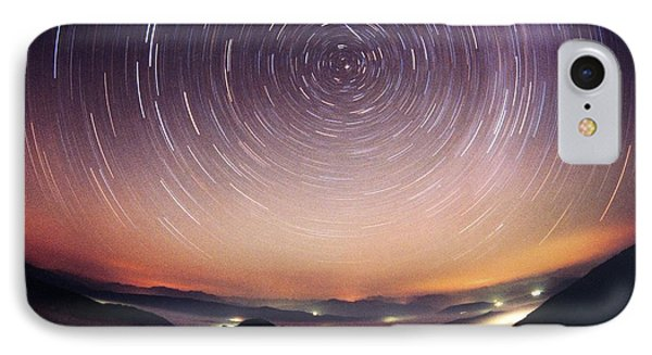 Star Trails Phone Case by Laurent Laveder