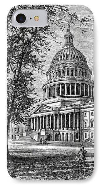U.s. Capitol Phone Case by Granger
