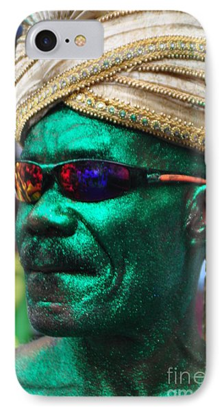 West Indian Day Parade Brooklyn Ny IPhone Case by Mark Gilman