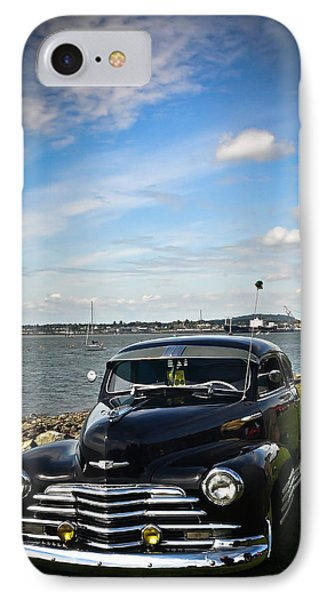 IPhone Case featuring the photograph '47 Chevy By The Bay by Ronda Broatch