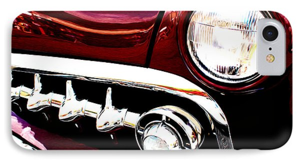 IPhone Case featuring the digital art 49 Ford by Tony Cooper
