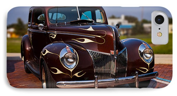 '49 Ford Two Door Sedan Phone Case by Christopher Holmes