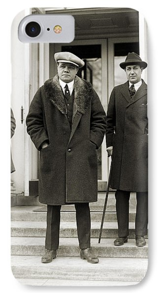 George H. Ruth (1895-1948) Phone Case by Granger