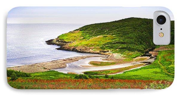 Atlantic Coast In Newfoundland IPhone Case