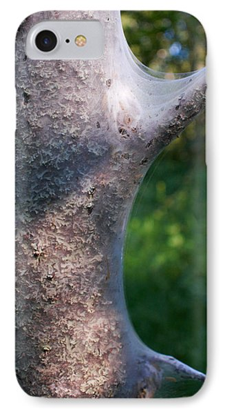 Bird-cherry Ermine Caterpillars Phone Case by Jouko Lehto