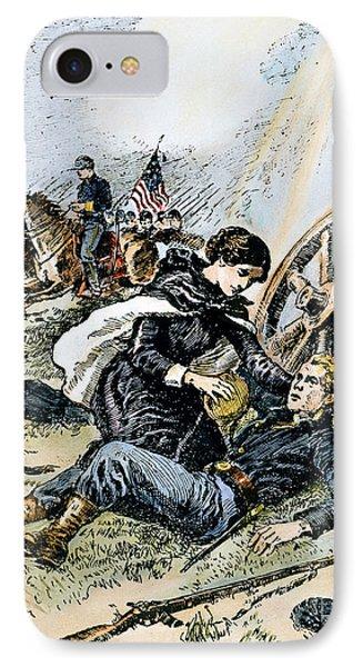 Clara Barton (1821-1912) Phone Case by Granger