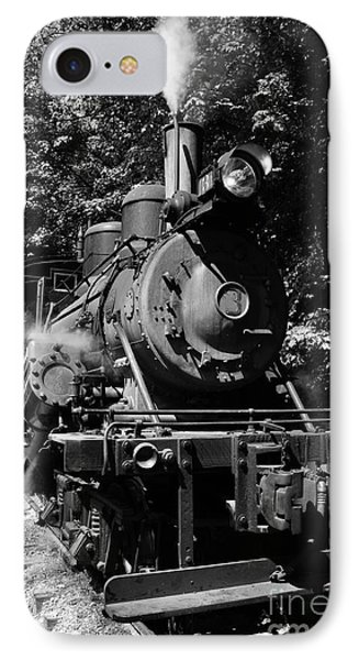 Climax Geared Locomotive Phone Case by Thomas R Fletcher