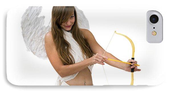 Cupid The God Of Desire Phone Case by Ilan Rosen