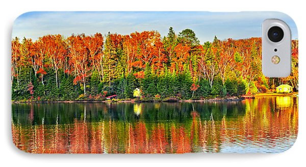 Fall Forest Reflections Phone Case by Elena Elisseeva