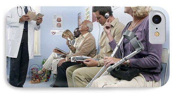 General Practice Waiting Room Phone Case by Adam Gault