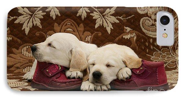 Goldidor Retriever Puppies IPhone Case by Jane Burton