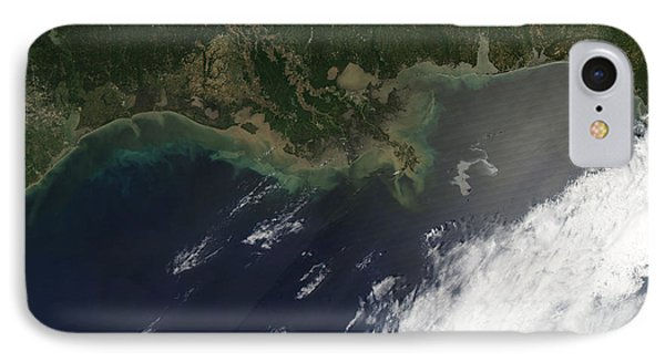 Gulf Oil Spill, April 2010 Phone Case by Nasa