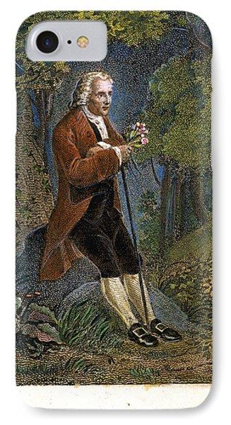 Jean-jacques Rousseau Phone Case by Granger