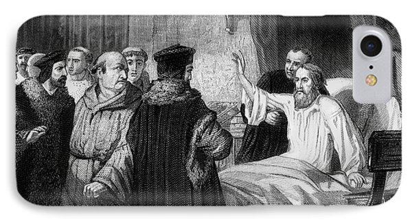 John Wycliffe (1320?-1384) Phone Case by Granger