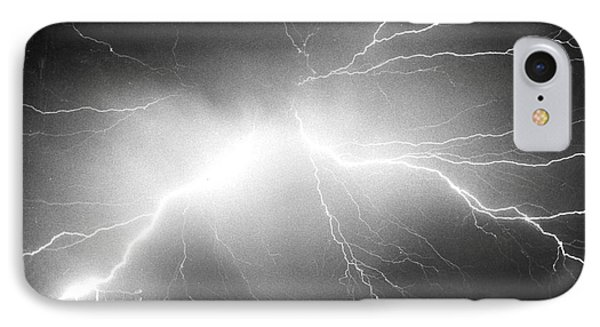 Lightning Phone Case by Science Source