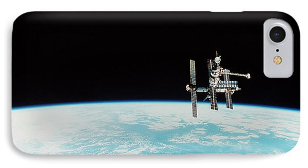 Mir Space Station Phone Case by Nasa