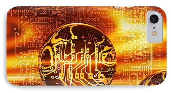 Quantum Computing Phone Case by Mehau Kulyk