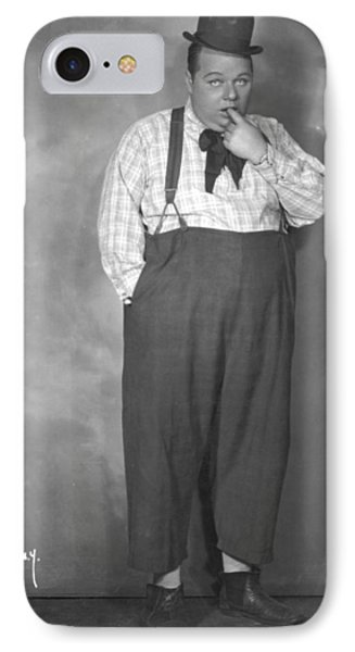 Roscoe Fatty Arbuckle Phone Case by Granger