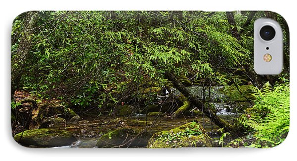 Rushing Mountain Stream Phone Case by Thomas R Fletcher