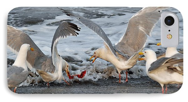 Seagulls Phone Case by Debra  Miller
