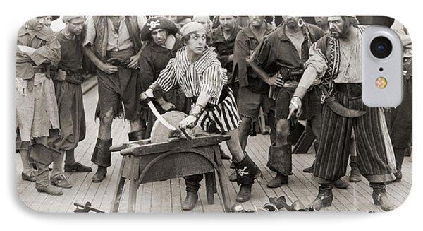 Silent Film Still: Pirates Phone Case by Granger