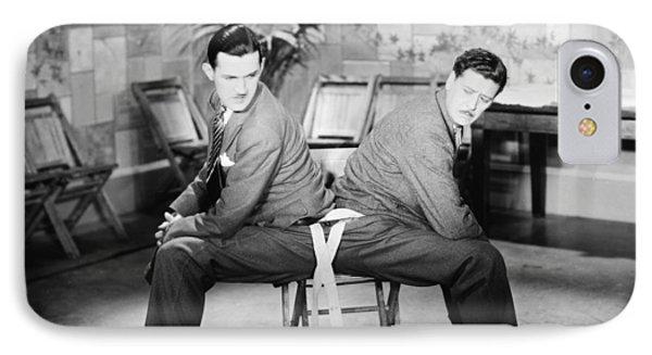 Silent Still: Two Men Phone Case by Granger