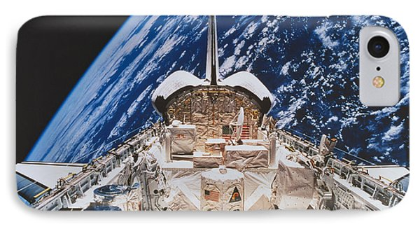 Space Shuttle Atlantis Phone Case by Science Source
