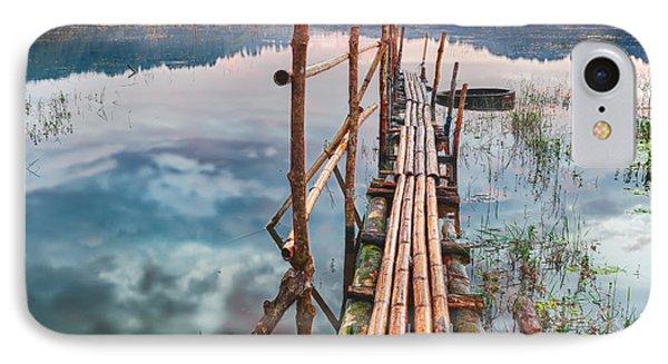 Tamblingan Lake Phone Case by MotHaiBaPhoto Prints