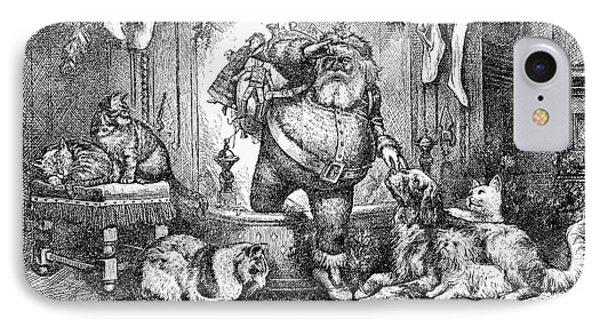 Thomas Nast: Santa Claus Phone Case by Granger