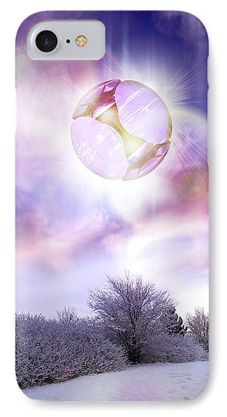 Ufo, Artwork Phone Case by Victor Habbick Visions