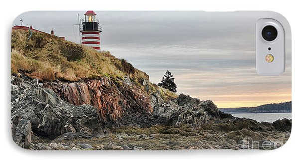 West Quoddy Head Lighthouse IPhone Case by Jack Schultz