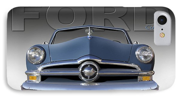 50 Ford Custom Convertible Phone Case by Mike McGlothlen