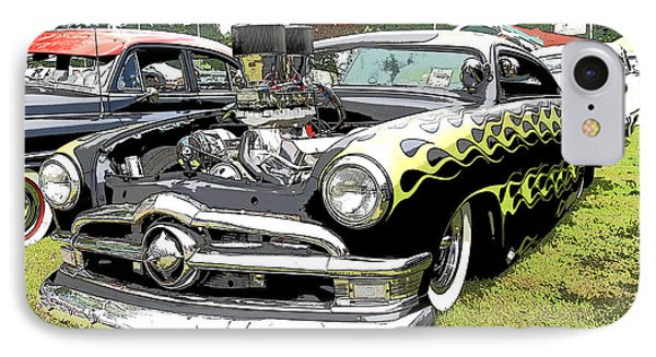 50 Ford Hot Rod IPhone Case