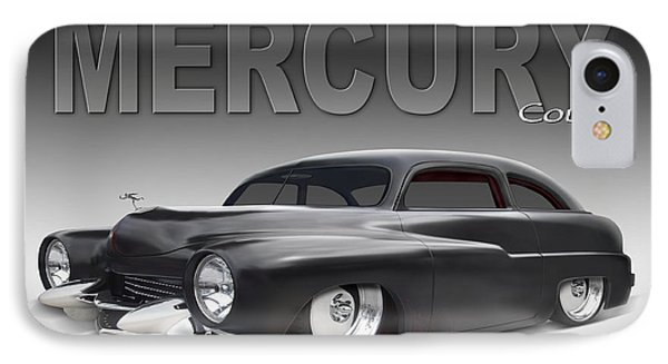 50 Mercury Coupe Phone Case by Mike McGlothlen