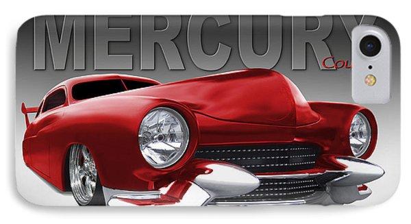 50 Mercury Lowrider Phone Case by Mike McGlothlen