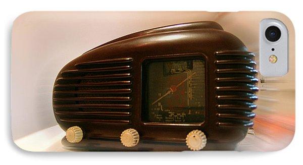 50's Radio Phone Case by Alessandro Della Pietra