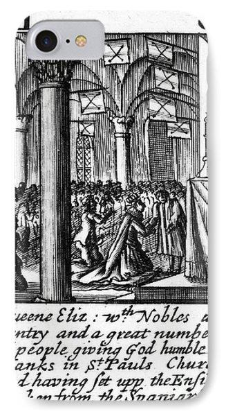 Spanish Armada, 1588 Phone Case by Granger