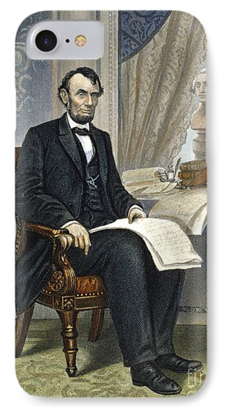 Abraham Lincoln Phone Case by Granger