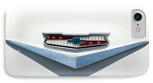 57 Chevy Emblem IPhone Case by Mark Dodd