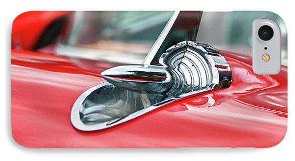 57 Chevy Hood Ornament 8509 Phone Case by Guy Whiteley