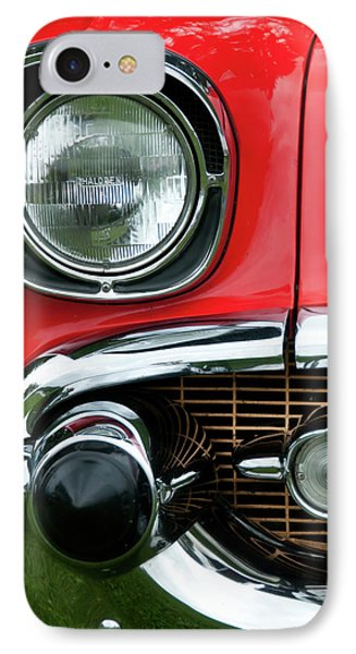 57 Chevy Right Front 8561 Phone Case by Guy Whiteley