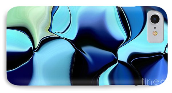 IPhone Case featuring the digital art 57 Distortions 2 by Greg Moores