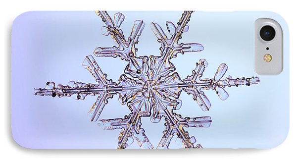 Snowflake Phone Case by Ted Kinsman