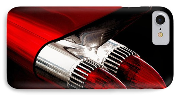 '59 Caddy Tailfin IPhone Case by Douglas Pittman